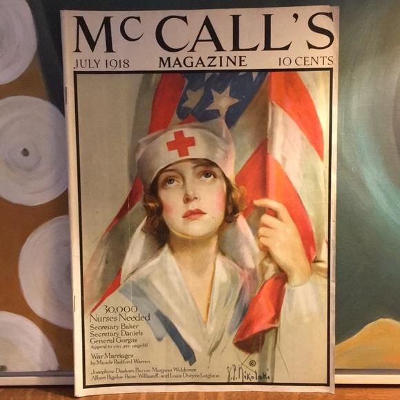 Vintage Other - July 1918 McCalls Magazine